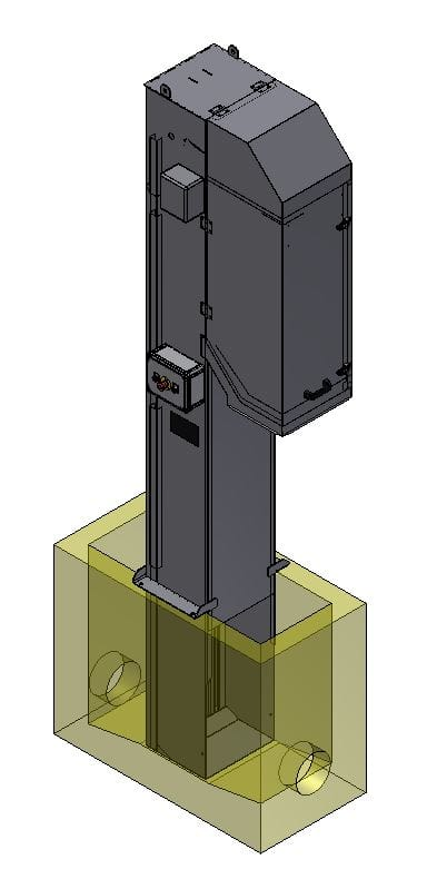 Vertical bar screens in USA
